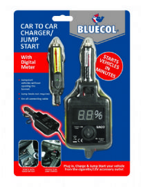BLUECOL CAR TO CAR JUMPSTART CHARGER